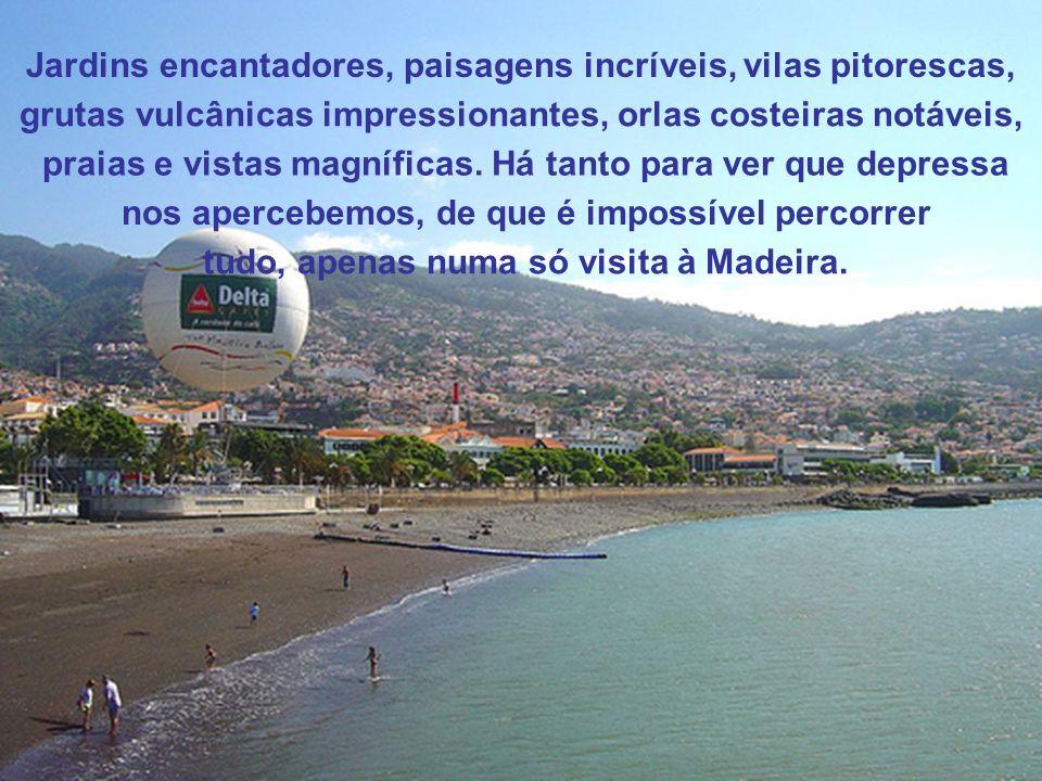 Se considerarmos o tamanho da Madeira, com certeza que teremos alguma dificuldade em perceber, como é que esta ilha tem tanto para oferecer. Desde mon
