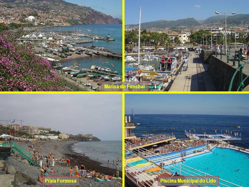 Praia FormosaPiscina Municipal do Lido Marina do Funchal