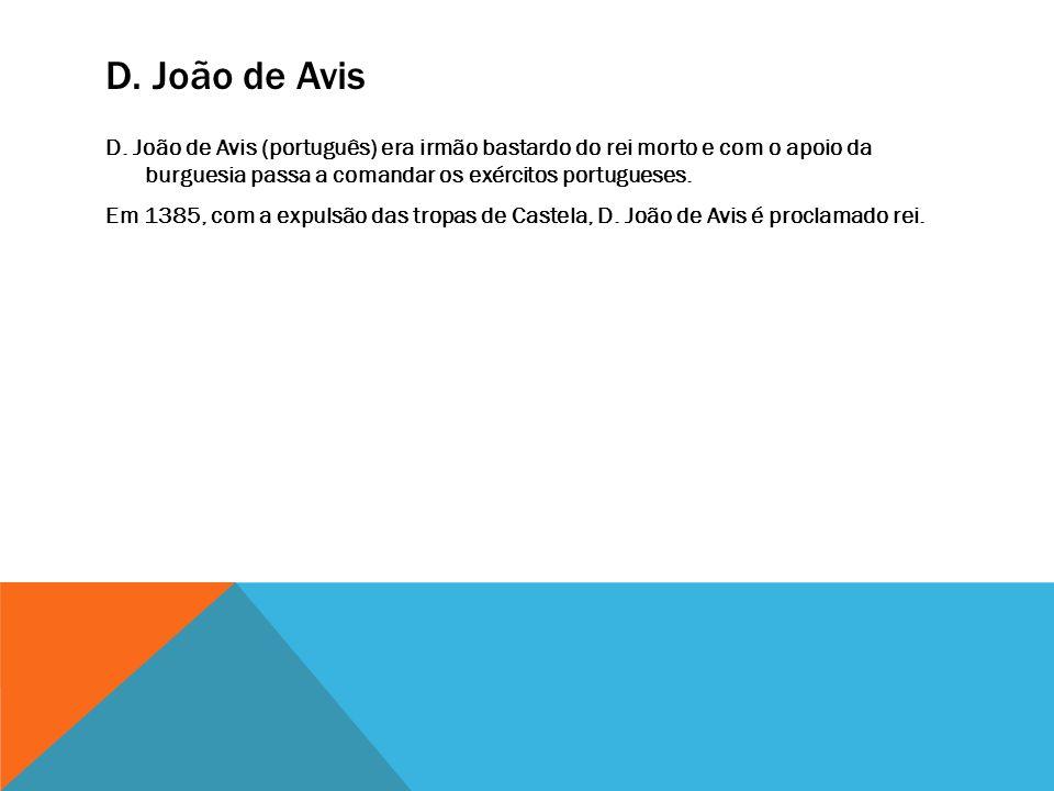 D.João de Avis D.