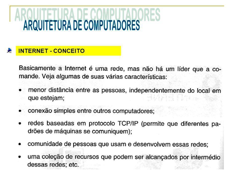 INTERNET - CONCEITO