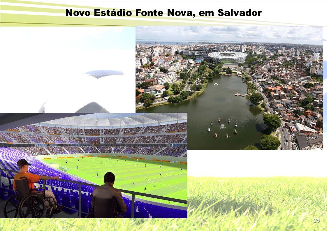 25 Novo Estádio Fonte Nova, em Salvador