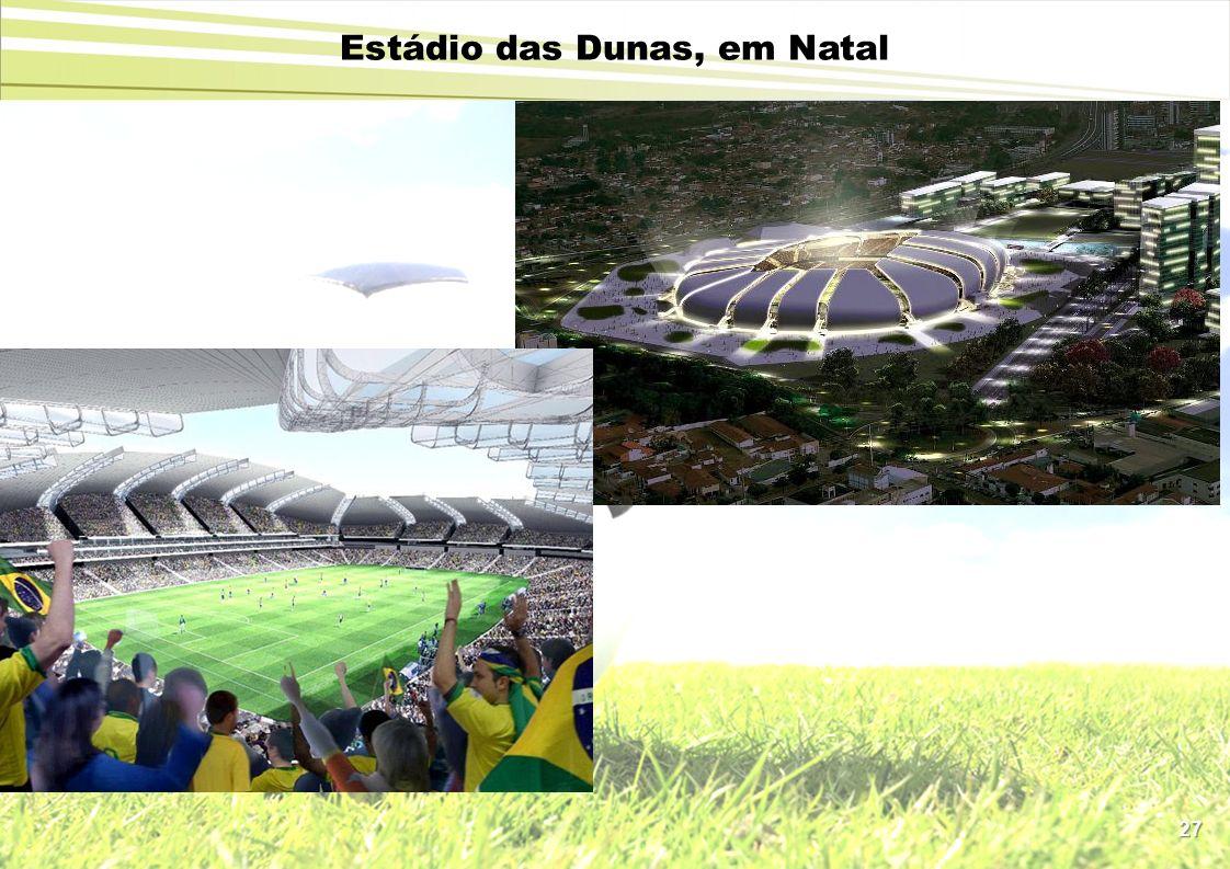 27 Estádio das Dunas, em Natal