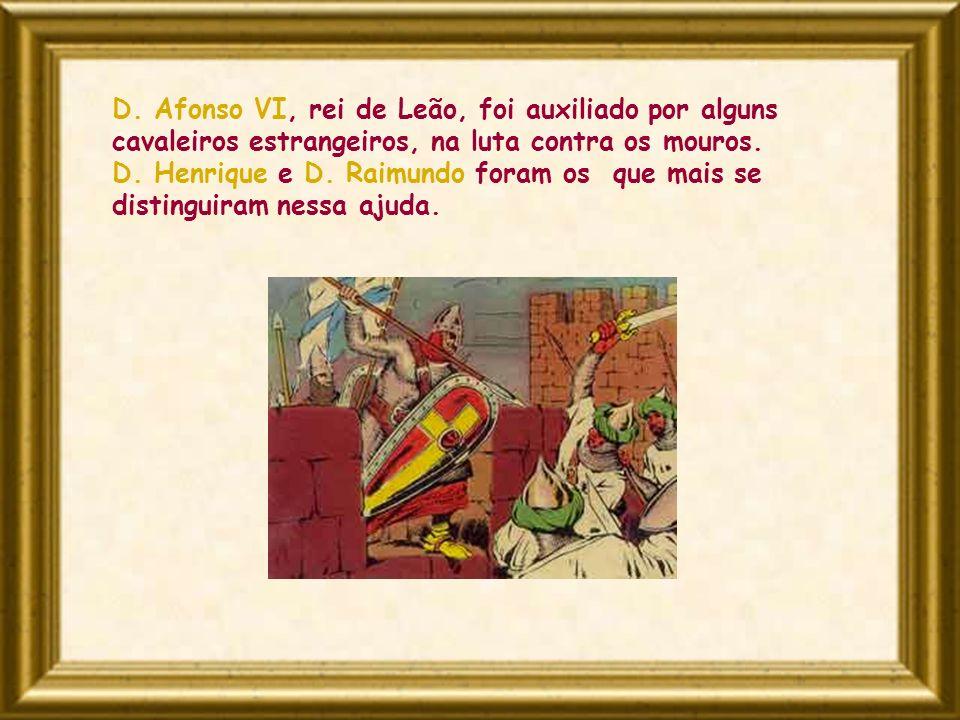 Do reino de Leão fazia parte o Condado Portucalense, território que se estendia entre o Minho e o Mondego.
