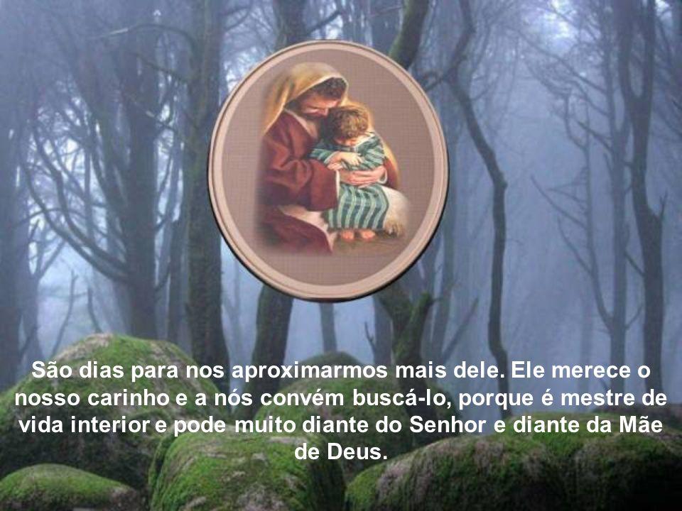 Ao longo desta Novena a São José, em que preparamos a sua festa (19 de março) podemos renovar e enriquecer esta sólida devoção e obter muitas graças e ajudas do Santo Patriarca.