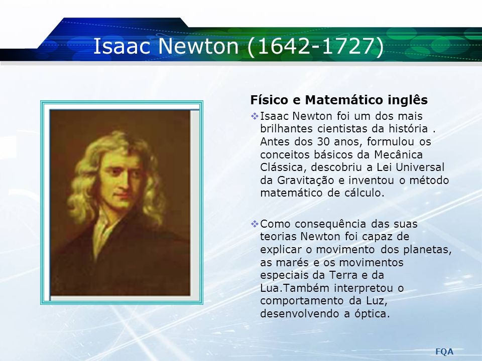 LOGO Da Terra à Lua Leis de Newton FQA Prof.ª Marília Peres Adaptado de Serway & Jewett