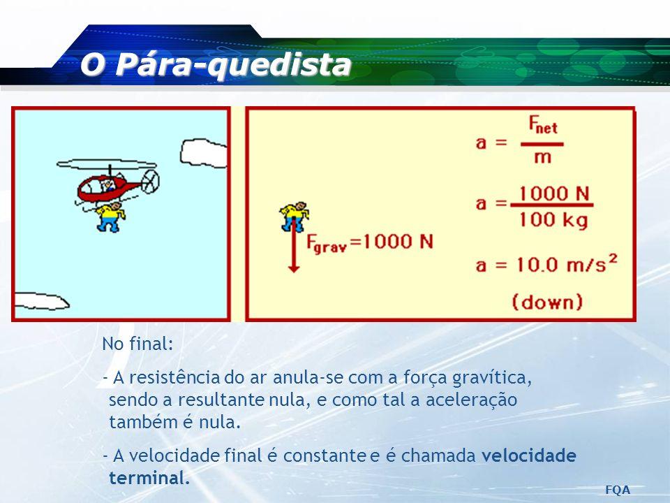 FQA Aplicar a segunda Lei de Newton: Segunda Lei de Newton, Exemplo 2 Resolver