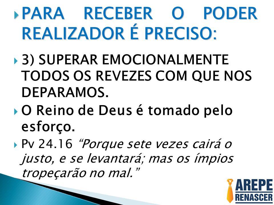 PARA RECEBER O PODER REALIZADOR É PRECISO: PARA RECEBER O PODER REALIZADOR É PRECISO: 4) TIRAR MEL DO LEÃO.