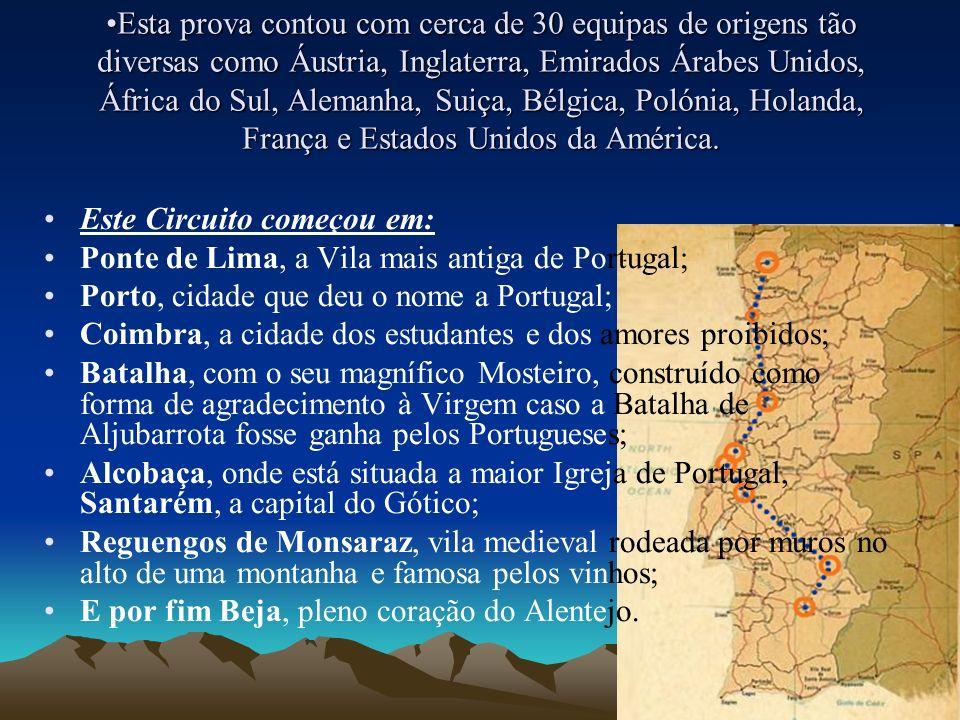 E Entre 28 de Março e 4 de Abril decorreu a 10ª Travessia de Portugal em Balão de Ar Quente, dedicada às Maravilhas de Portugal.