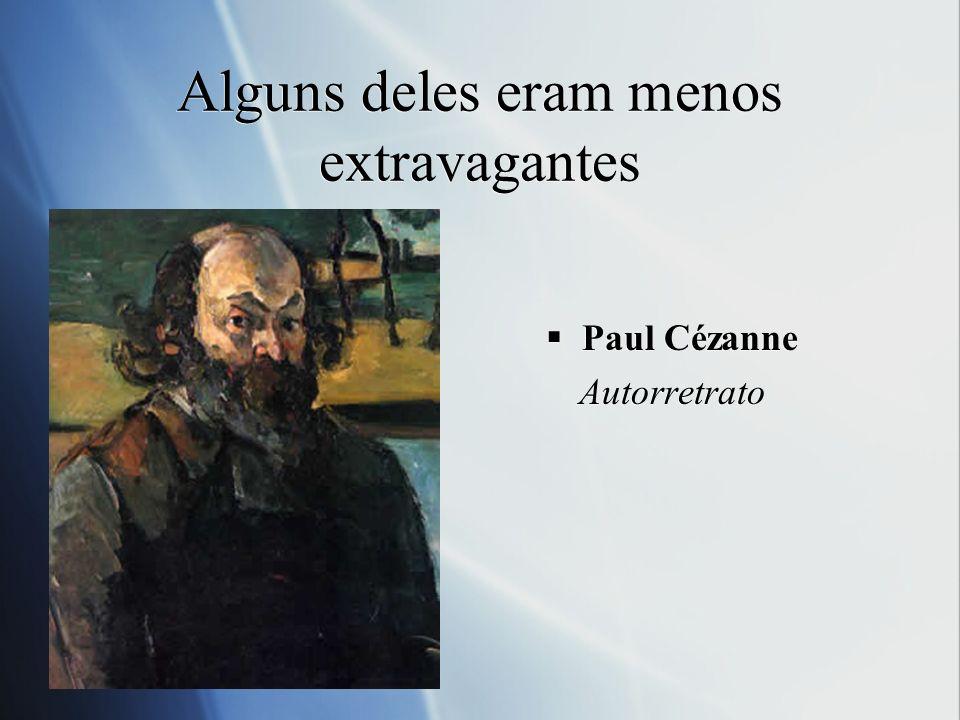 Mas todos eram transgressores Claude Monet Autorretrato no ateliê (1886) Claude Monet Autorretrato no ateliê (1886)