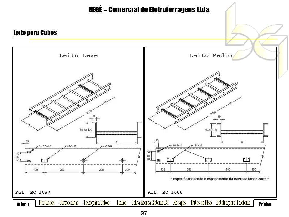 Leito Leve BEGÊ – Comercial de Eletroferragens Ltda.