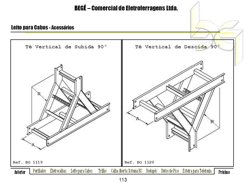Tê Vertical de Subida 90º BEGÊ – Comercial de Eletroferragens Ltda.
