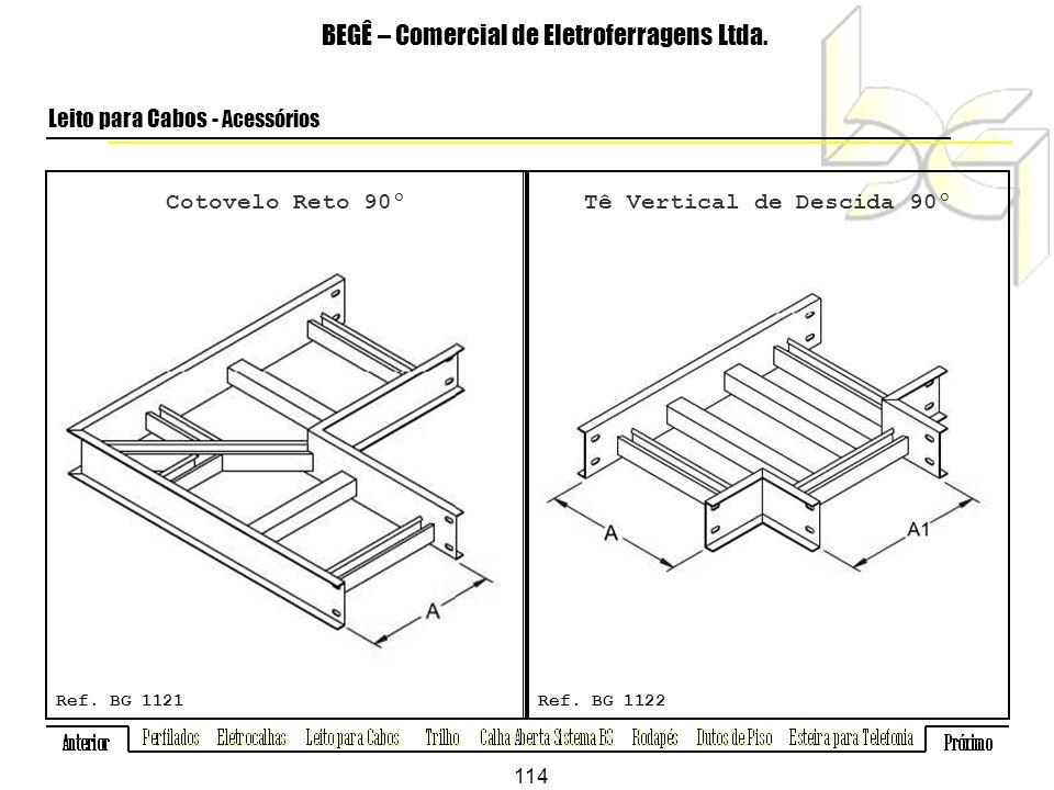 Cotovelo Reto 90º BEGÊ – Comercial de Eletroferragens Ltda.