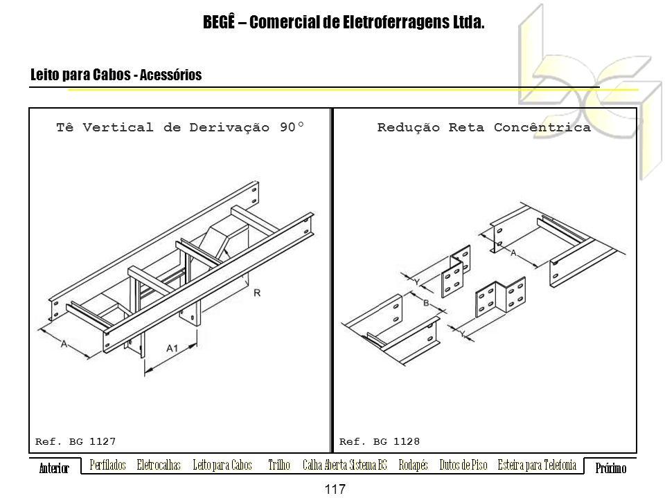 Tê Vertical de Derivação 90º BEGÊ – Comercial de Eletroferragens Ltda.