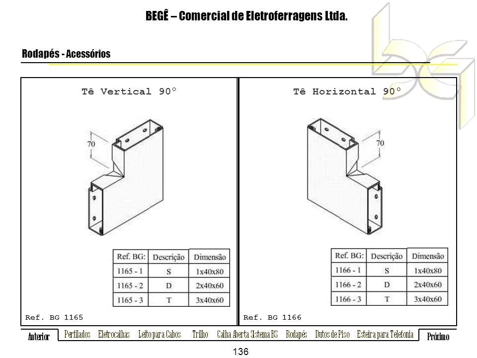 Tê Vertical 90º BEGÊ – Comercial de Eletroferragens Ltda.