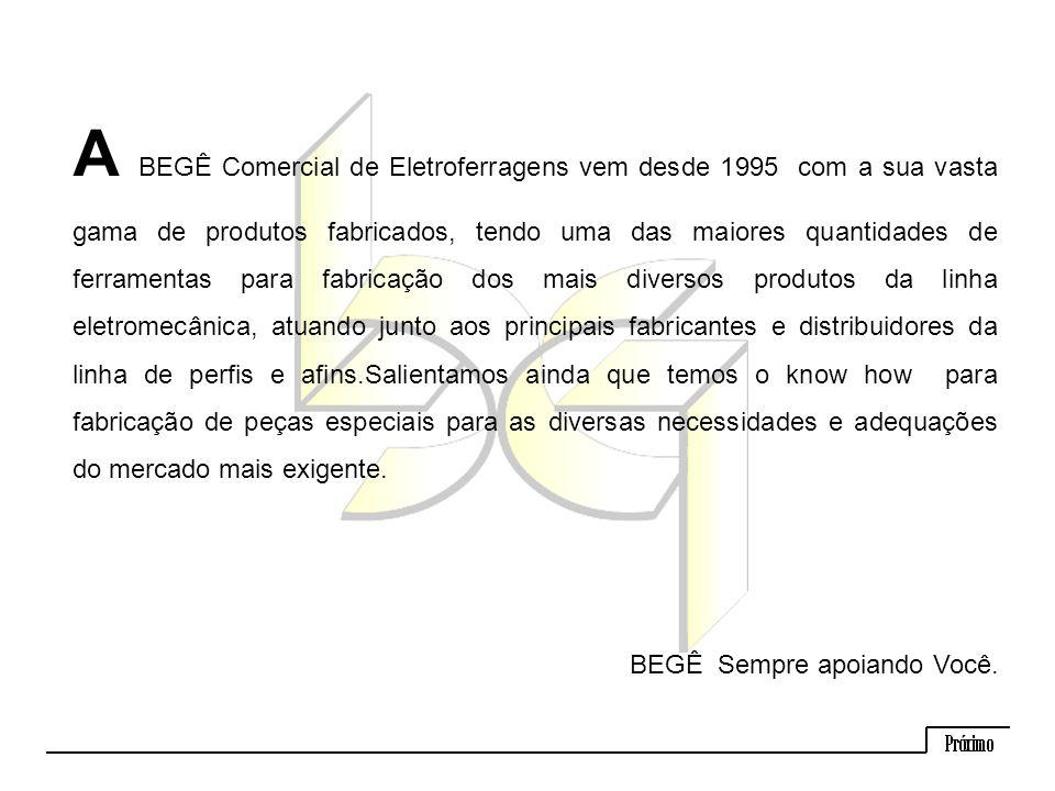 Tala Simples com 3 Furos BEGÊ – Comercial de Eletroferragens Ltda.