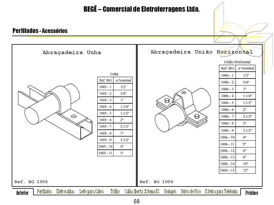 Abraçadeira Unha BEGÊ – Comercial de Eletroferragens Ltda.