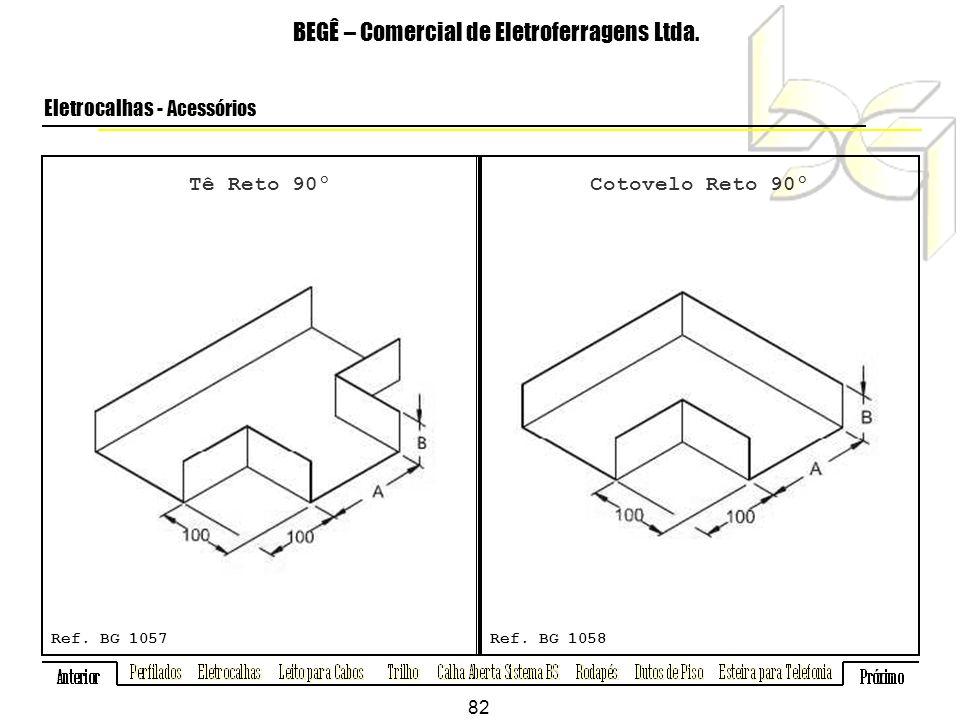 Tê Reto 90º BEGÊ – Comercial de Eletroferragens Ltda.