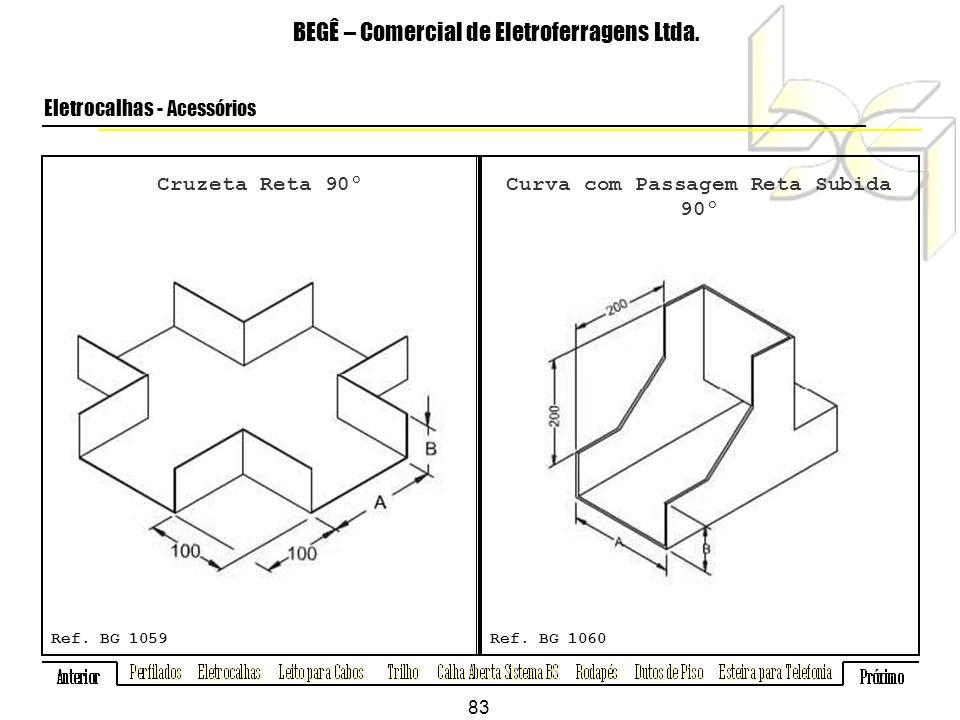 Cruzeta Reta 90º BEGÊ – Comercial de Eletroferragens Ltda.