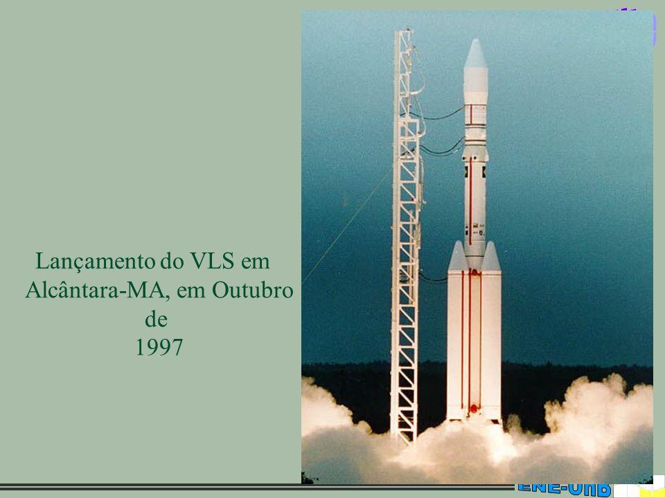13 Lançamento do VLS em Alcântara-MA, em Outubro de 1997