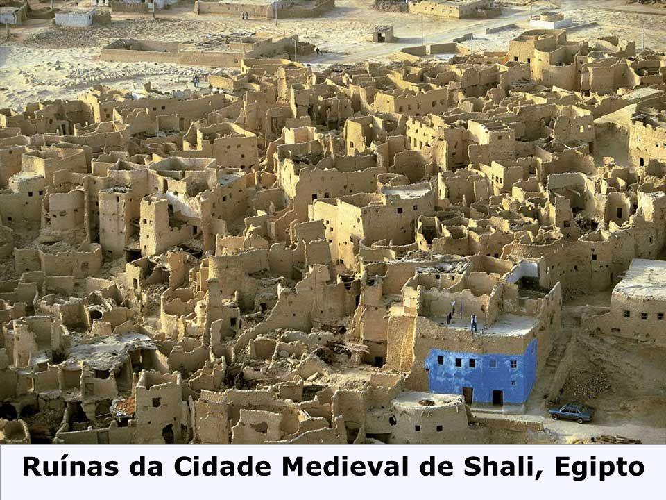 Ruínas da Cidade Medieval de Shali, Egipto