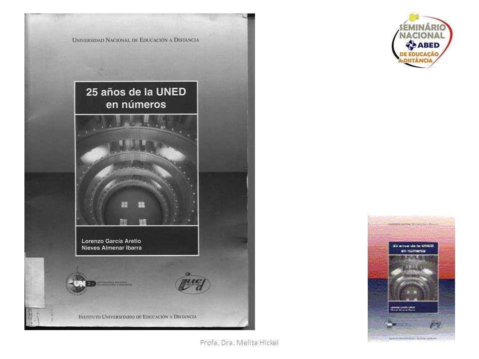 Pesquisa de Pós-doutorado na UNED, Madrid Apoio da CAPES + Fundación Carolina setembro de 2010 a março 2011 Estudo comparativo da legislação de EAD Br