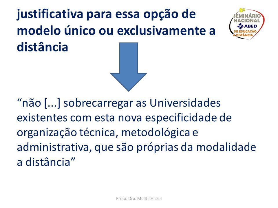 Decreto de Criação da UNED FILOSOFIA BÁSICA DA INSTITUIÇÃO por una modalidad de enseñanza a distancia basada no em um modelo dual o mixto (institucion