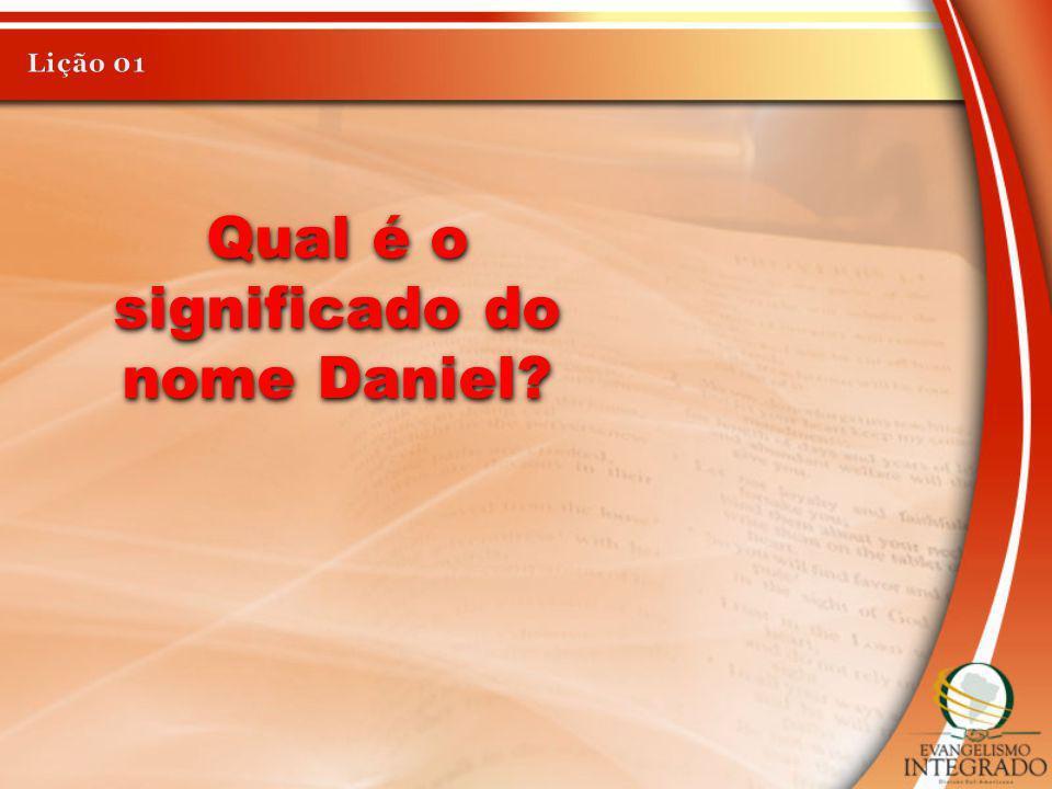 Qual é o significado do nome Daniel?