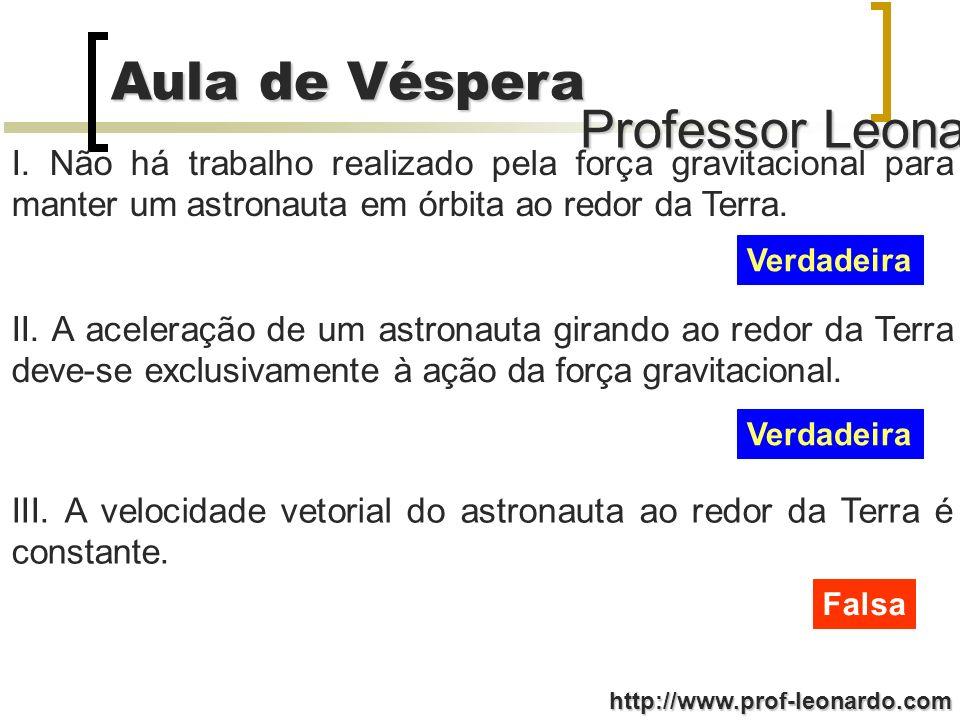 Professor Leonardo Aula de Véspera http://www.prof-leonardo.com (001) m = m se o elevador desce em movimento uniformemente acelerado.