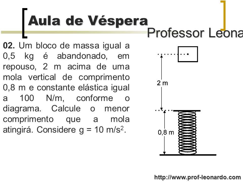 Professor Leonardo Aula de Véspera http://www.prof-leonardo.com 02.