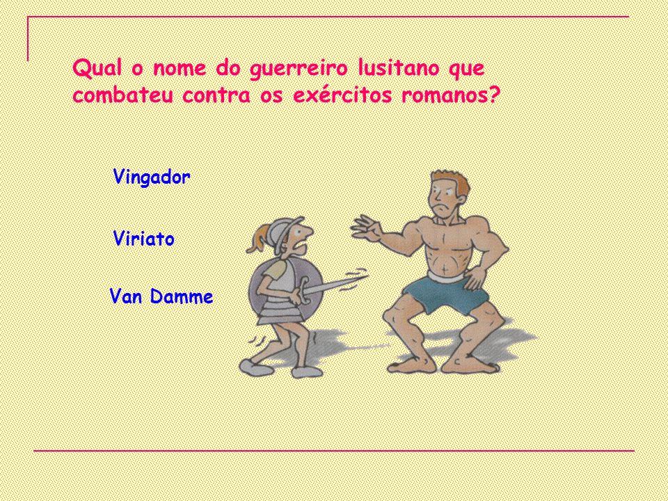 Que povo deu origem ao povo português? Lusitano Romano Castelhano