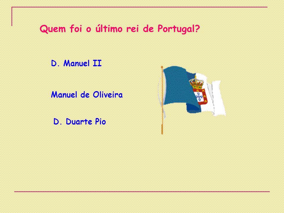 Que rei foi assassinado? D. Carlos I D. Carlota Joaquina Cardeal D. Henrique