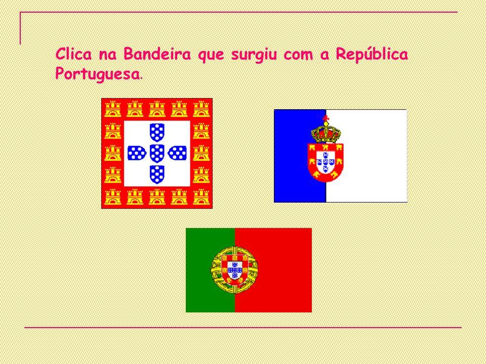 Em que data foi proclamada a República? 5 de Outubro de 1910 25 de Abril de 1974 25 de Dezembro de 1980
