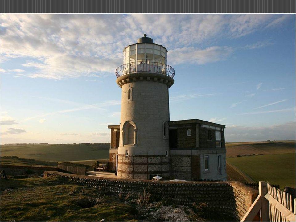 Beachy Head era um perigo para a navegação. Em 1831, começou a construção do farol Belle Tout. Começou a funcionar em 1834. Devido à contínua erosão q