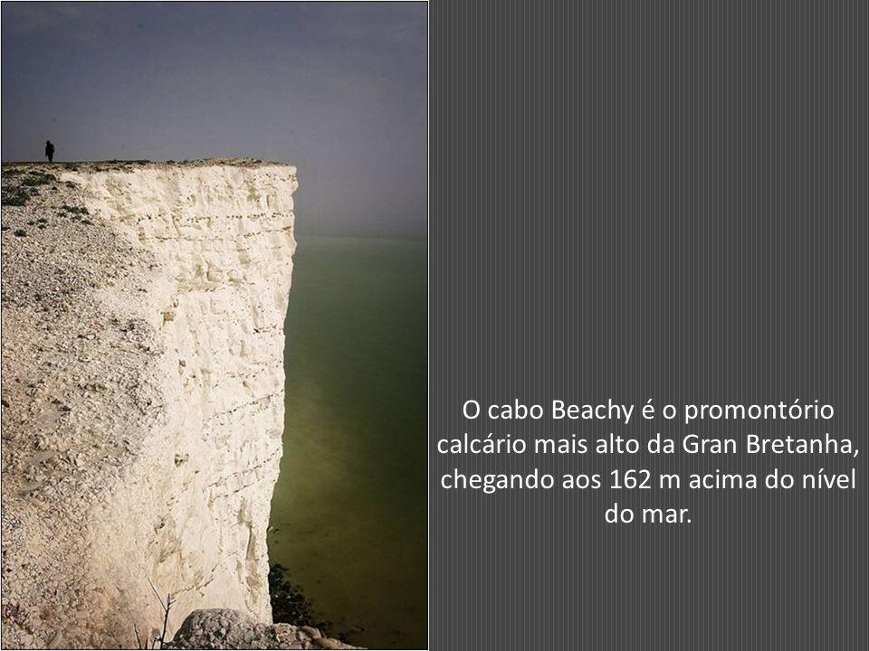 Vista aérea de Beachy Head