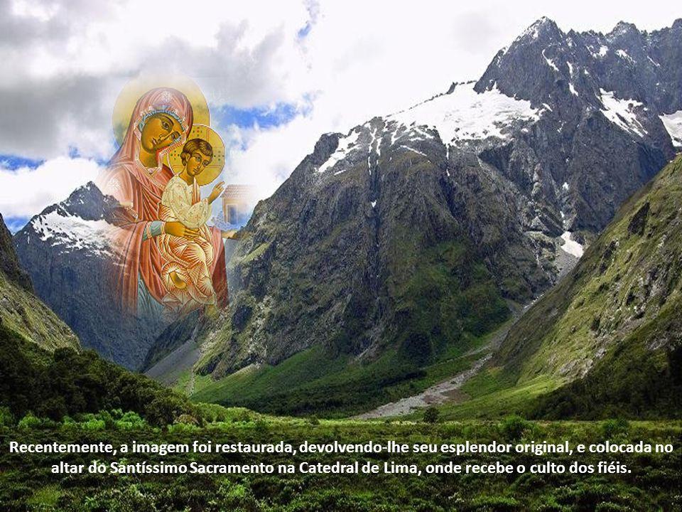 A venerada imagem presidiu a vida da Igreja arquidiocesana de Lima, que teve tanta importância na difusão do Evangelho desde Nicarágua até o Cabo Hornos.