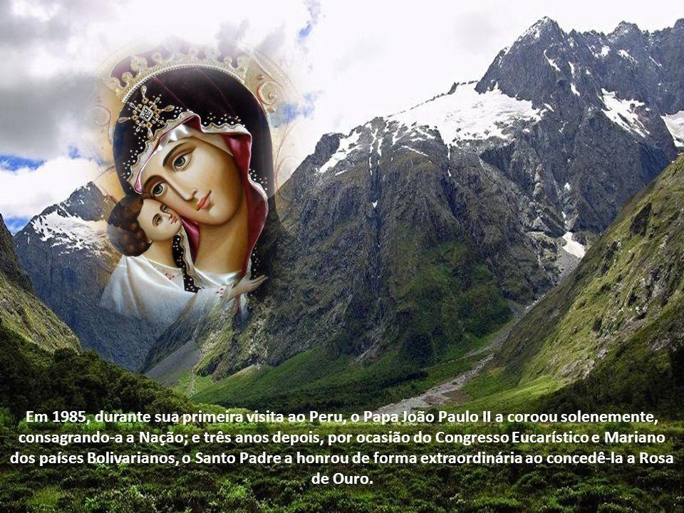 Recentemente, a imagem foi restaurada, devolvendo-lhe seu esplendor original, e colocada no altar do Santíssimo Sacramento na Catedral de Lima, onde recebe o culto dos fiéis.