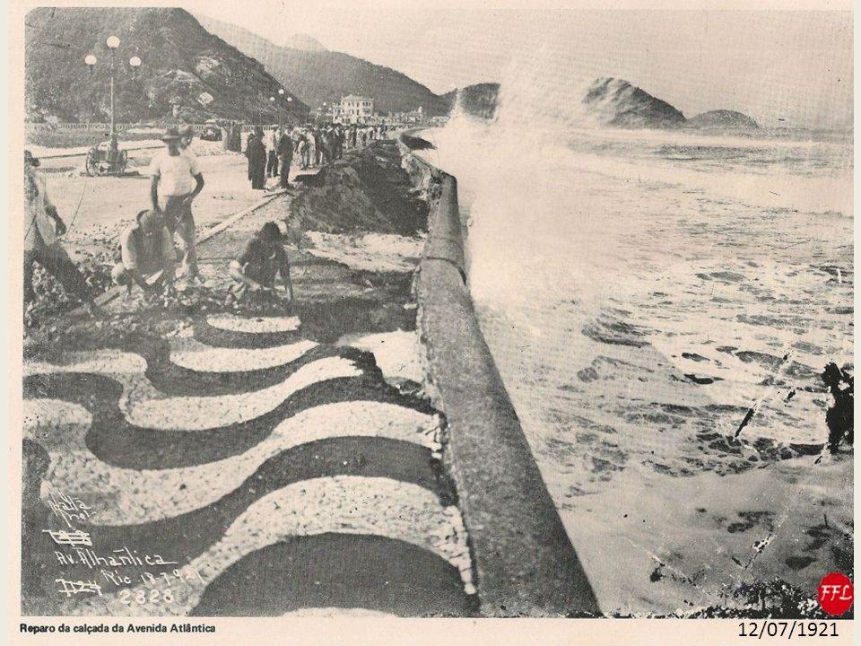 DESTRUIÇÃO DO CALÇAMENTO - 1921