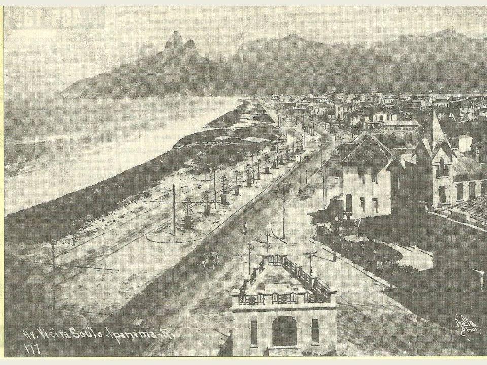 Alargamento da Av. Atlântica 1ª parte - 1919
