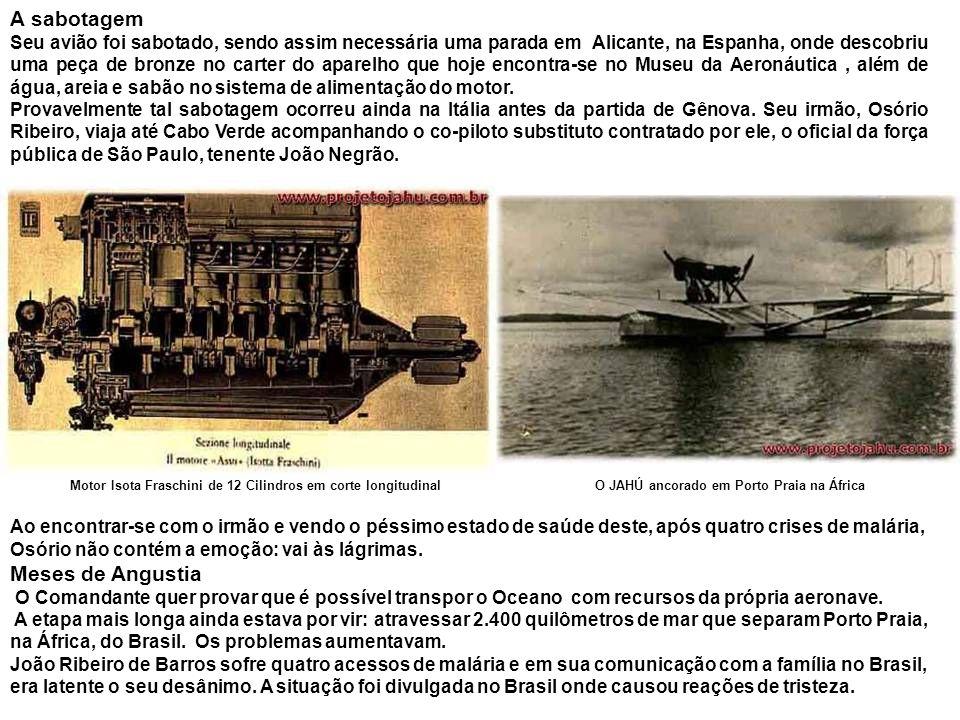 Motim a bordo Chegando a Lisboa, Artur Cunha, co-piloto do avião, critica os seus companheiros e os desacredita, o que provoca reação imediata do Governo brasileiro.