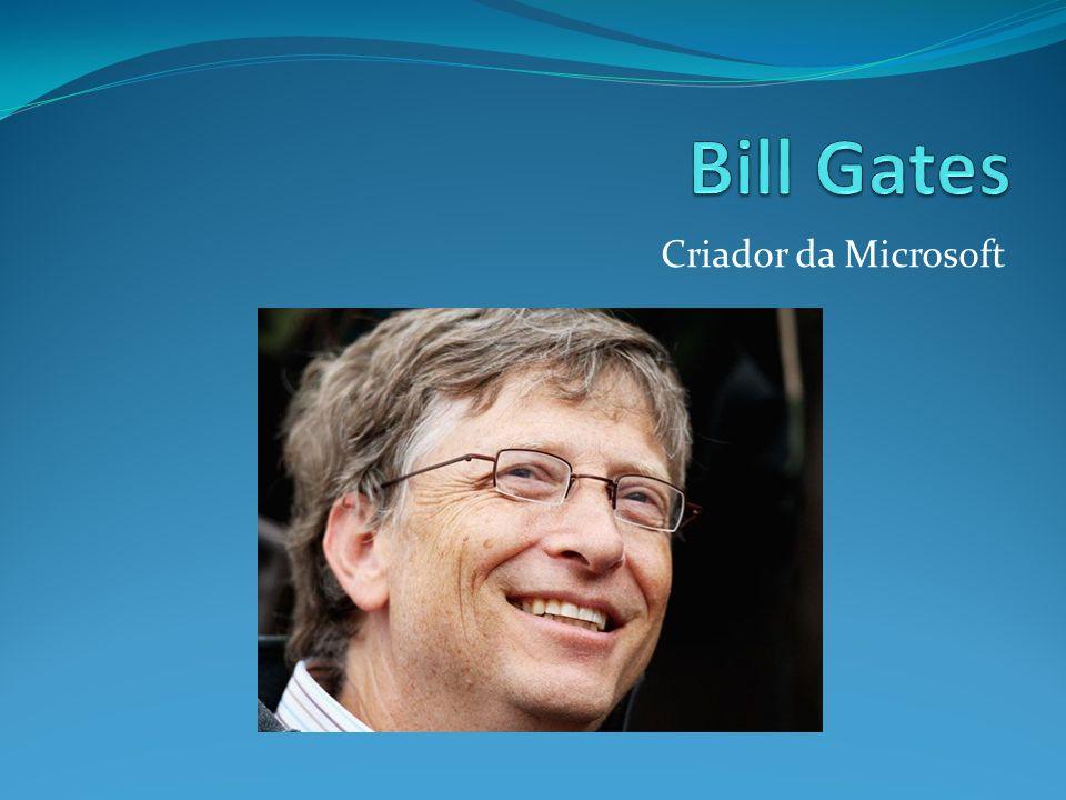 Criador da Microsoft