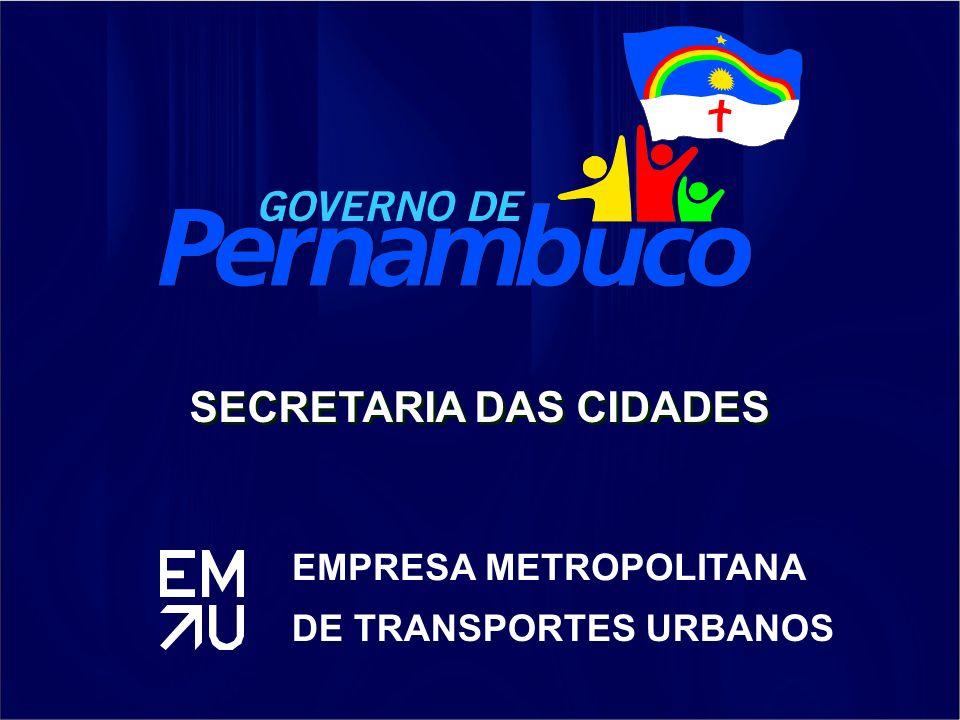 EMPRESA METROPOLITANA DE TRANSPORTES URBANOS SECRETARIA DAS CIDADES