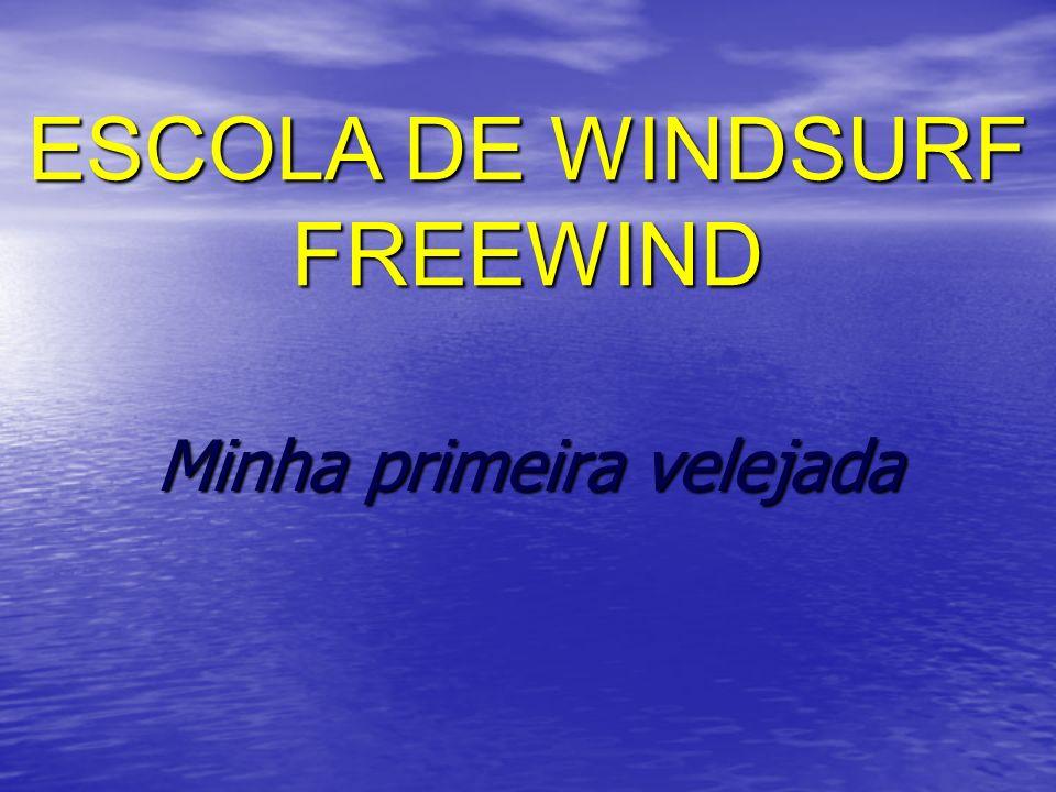 Minha primeira velejada ESCOLA DE WINDSURF FREEWIND