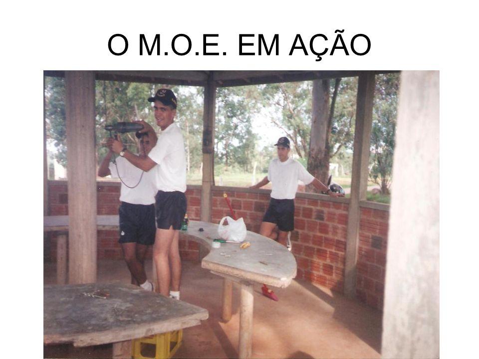O M.O.E. EM AÇÃO