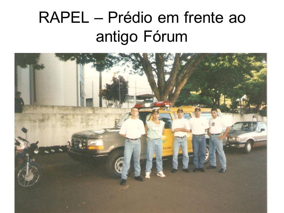 RAPEL – Prédio em frente ao antigo Fórum