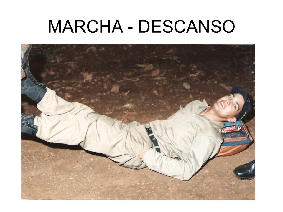 MARCHA - DESCANSO