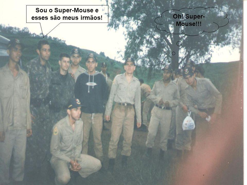 Oh! Super- Mouse!!! Sou o Super-Mouse e esses são meus irmãos!