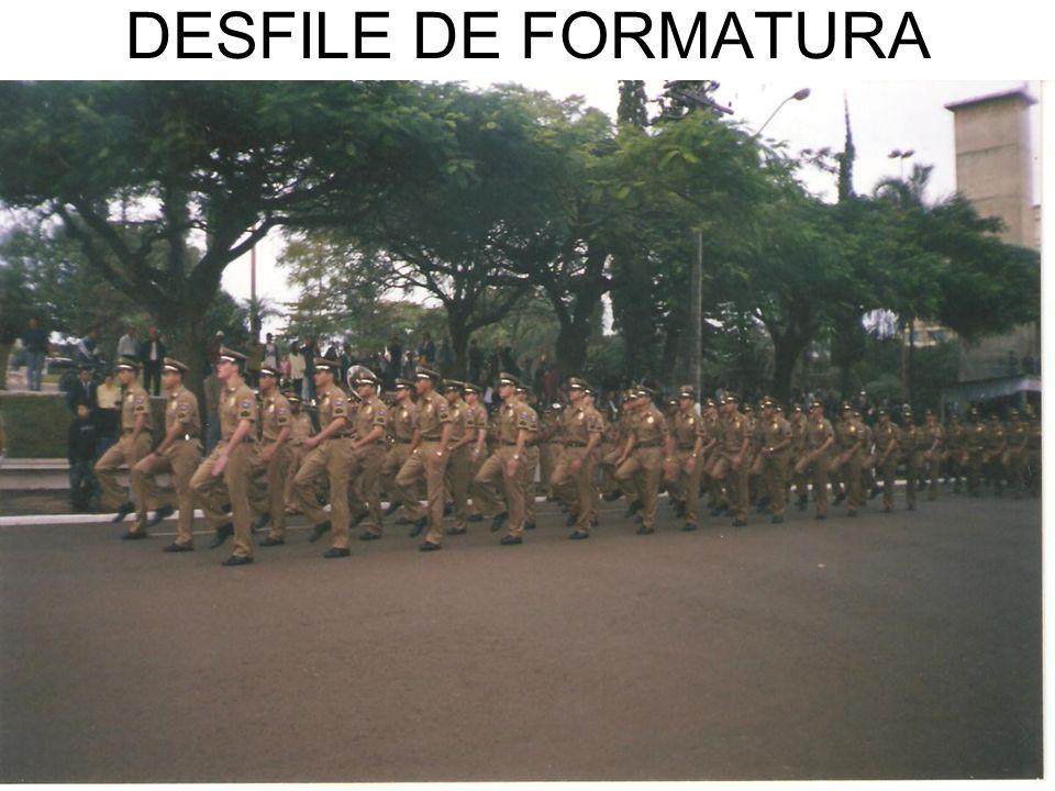 DESFILE DE FORMATURA