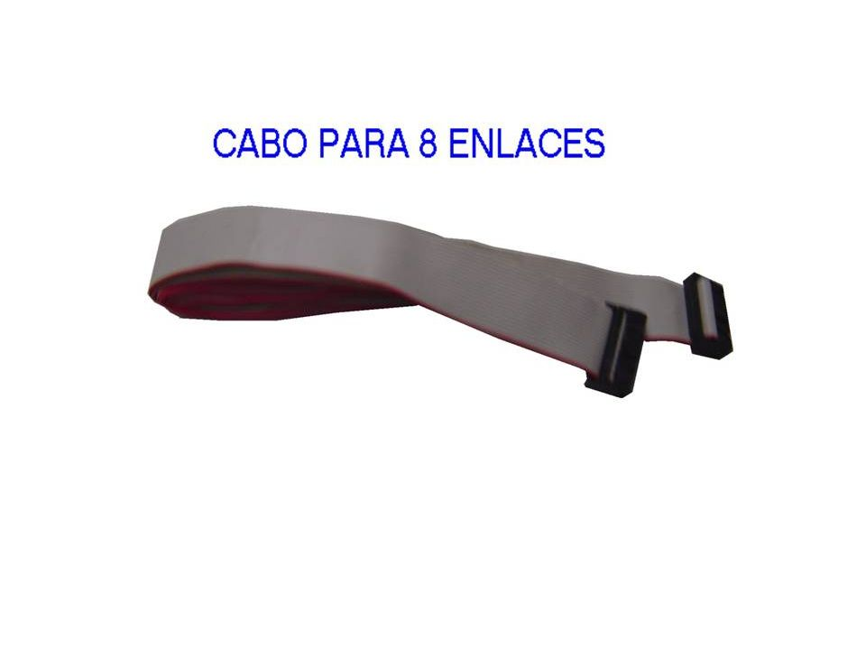 BSX - BASE PARA 8 PLACAS DE RAMAIS TELEFÔNICOS (128 RAMAIS) - POSSIBILITA ACOPLAR PLACA PTX - ACOPLA PLACA IPX CDX 2000
