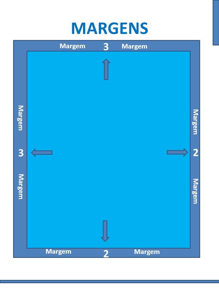 MARGENS 3 3 2 2 Margem