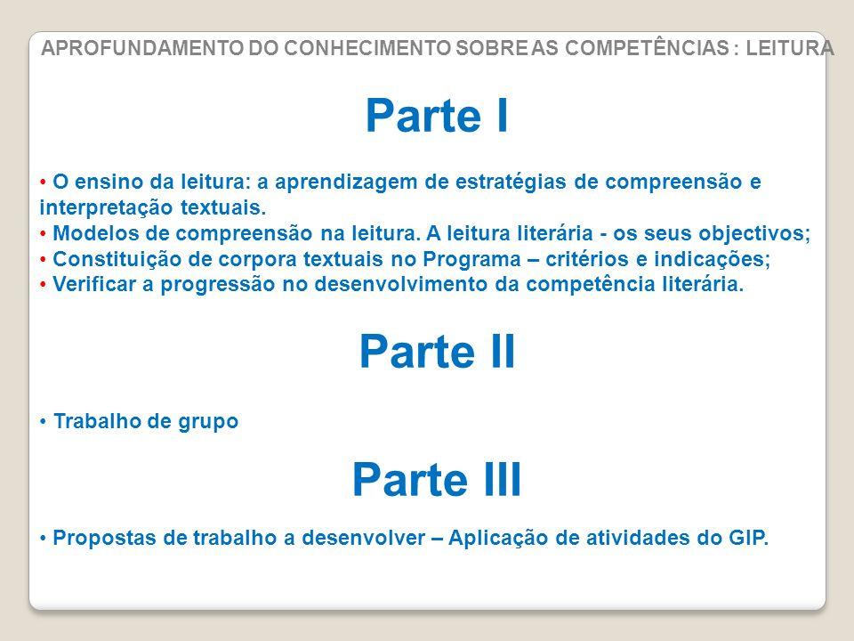 Orientações para a selecção de textos literários Novos Programas de Português, pag.74/113 2ºciclo 3ºciclo